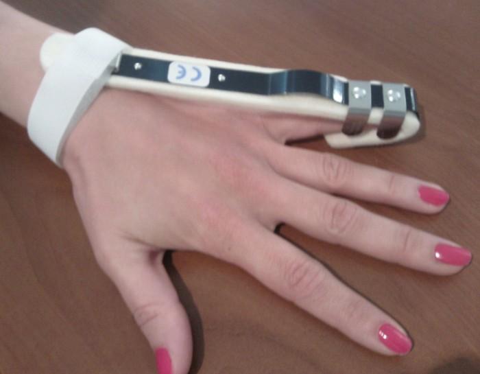 attelle d'extension de doigt