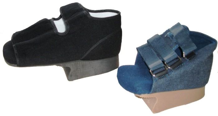 Chaussures thérapeutiques de décharge de l'avant-pied
