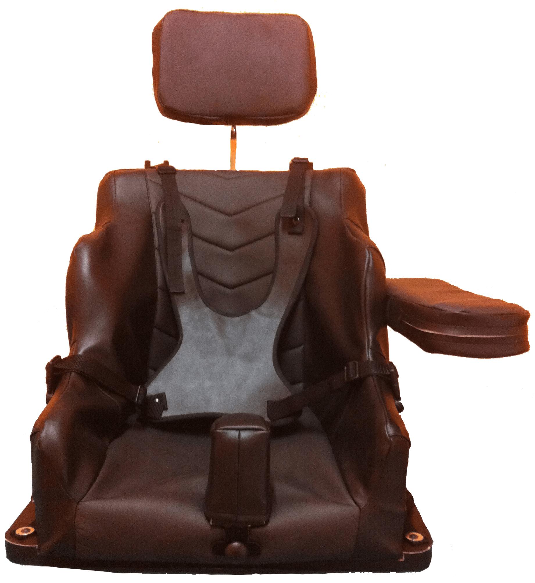 Corset siège mousse épaisse finition simili cuir