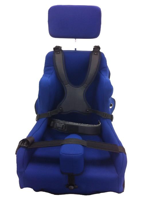 Corset siège en mousse épaisse, housse amovible néoprène