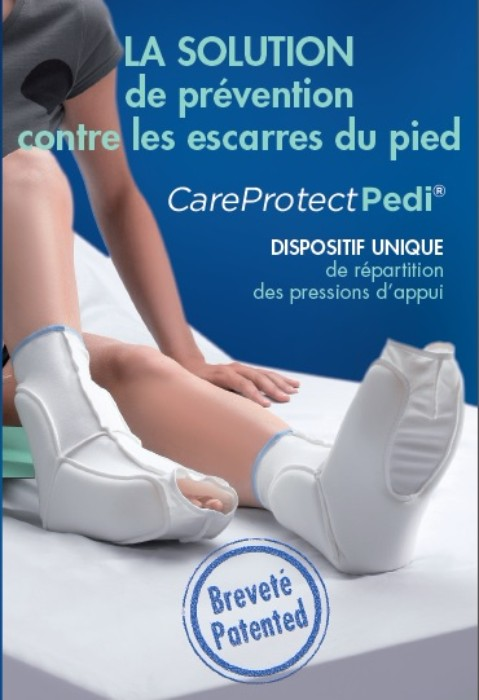 Chaussons anti escarres